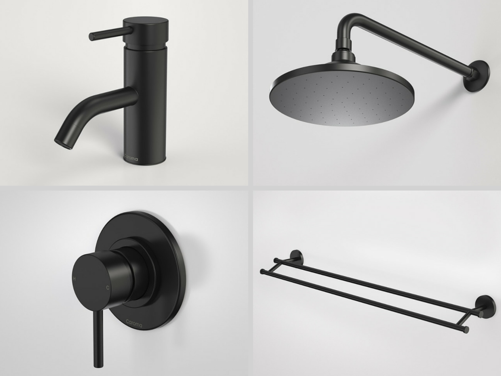 Bathroom Taps Black : black taps