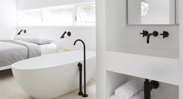 Bathroom Taps Black : ... kitchen taps and mixer taps including tapware and bathroom accessories