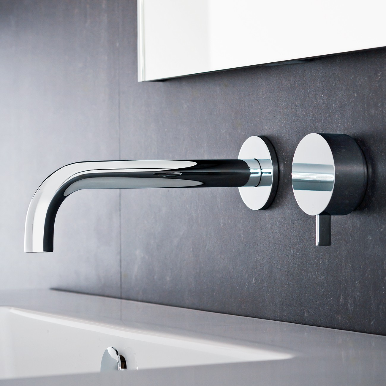 Full Resolution 1300 X Next Wall Mounted Basin Mixer Tap