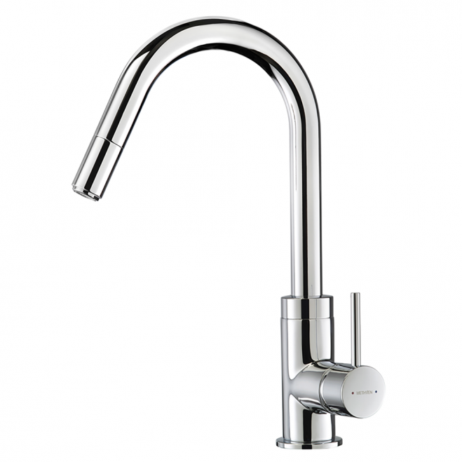 Methven Culinary Gooseneck Pull Out Sink Mixer