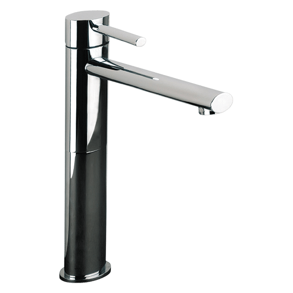 Ovale High Basin Mixer - Chrome Finish