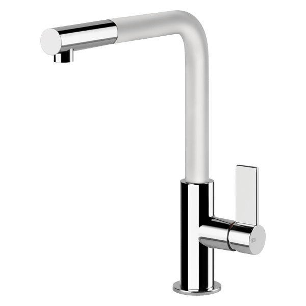 Emporio Pull Out Kitchen Mixer - Black Spout Finish