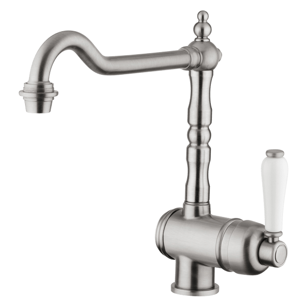 Provincial Single lever kitchen mixer - Brushed Nickel Finish
