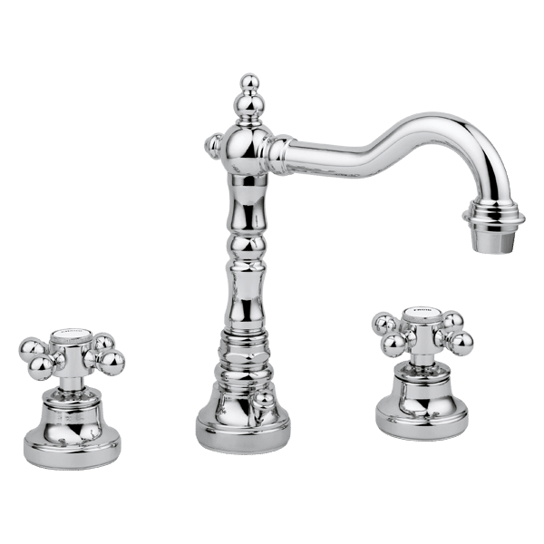 Provincial 3 piece basin set - Chrome Finish