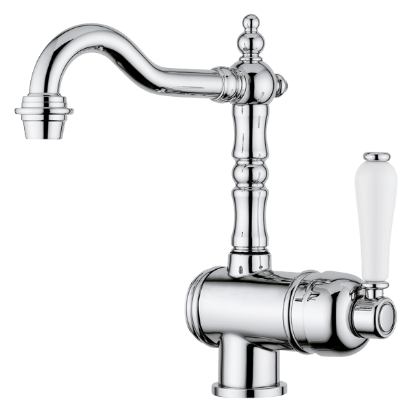 Provincial Single lever basin mixer - Brushed Nickel Finish