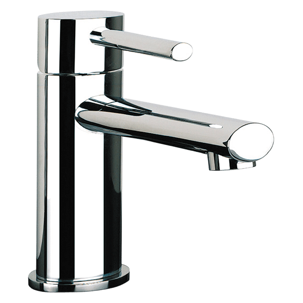 Ovale Basin Mixer - Chrome Finish