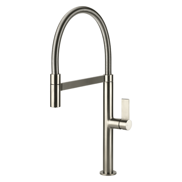 Emporio Pull Out Kitchen Mixer - Brushed Nickel Finish