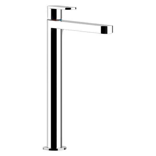Via Bagutta High Basin Mixer - White Finish