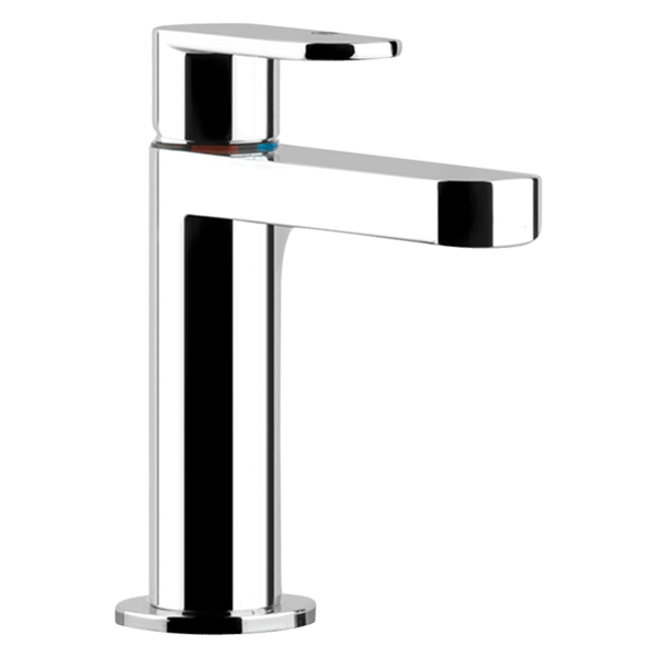 Via Bagutta Basin Mixer - White Finish