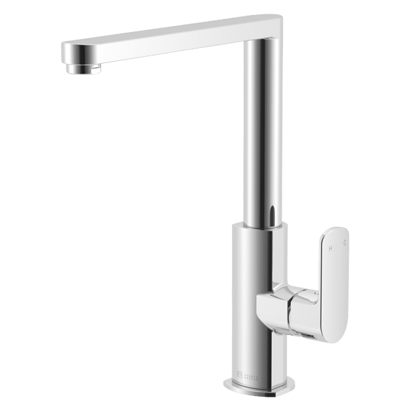 Lucia Side Lever Kitchen Mixer - Chrome Finish