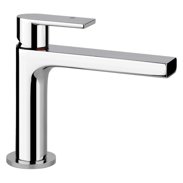 Via Manzoni Basin Mixer - White Finish