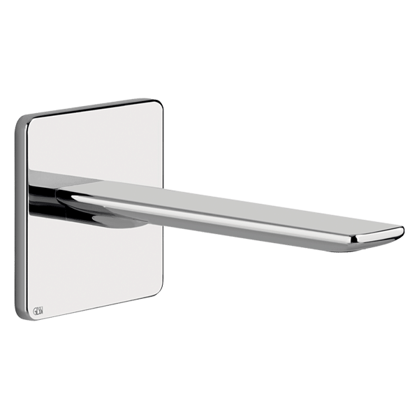 ISPA Wash Basin Spout - Chrome Finish