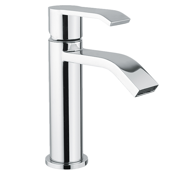 Stile Basin Mixer - Graphite Finish