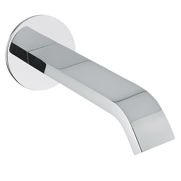Stile Basin Spout - Chrome Finish