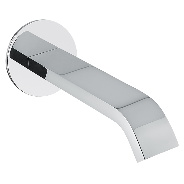 Stile Bath Spout - Brushed Nickel Finish