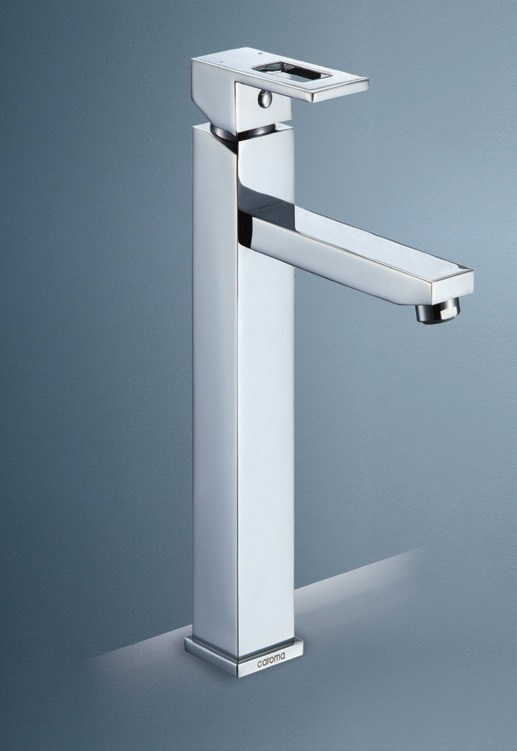 Quatro Loop Tower Basin Mixer