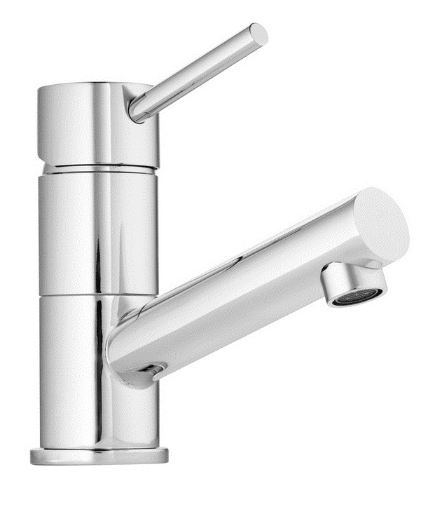 Stylus Cadet Tower Bathroom Basin Wels Mixer Tap Chrome