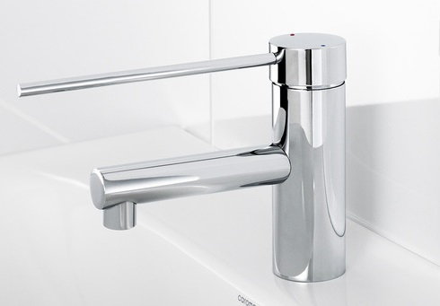 Irwell Pin Lever Care Basin Mixer Tap Chrome
