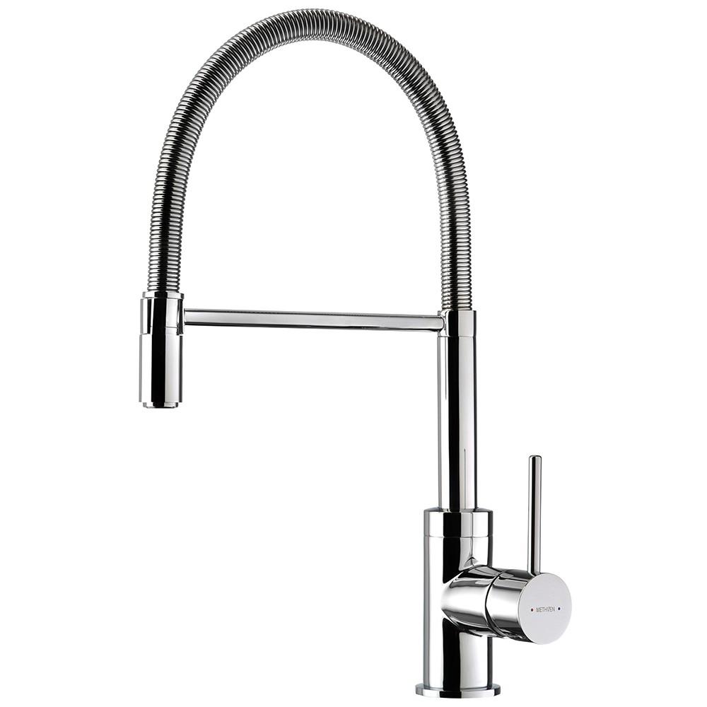 SPRING PULL-DOWN SINK MIXER CP