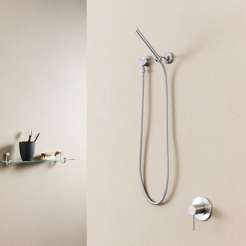 Titan Stainless Steel Hand Shower (Microphone Hand Piece)