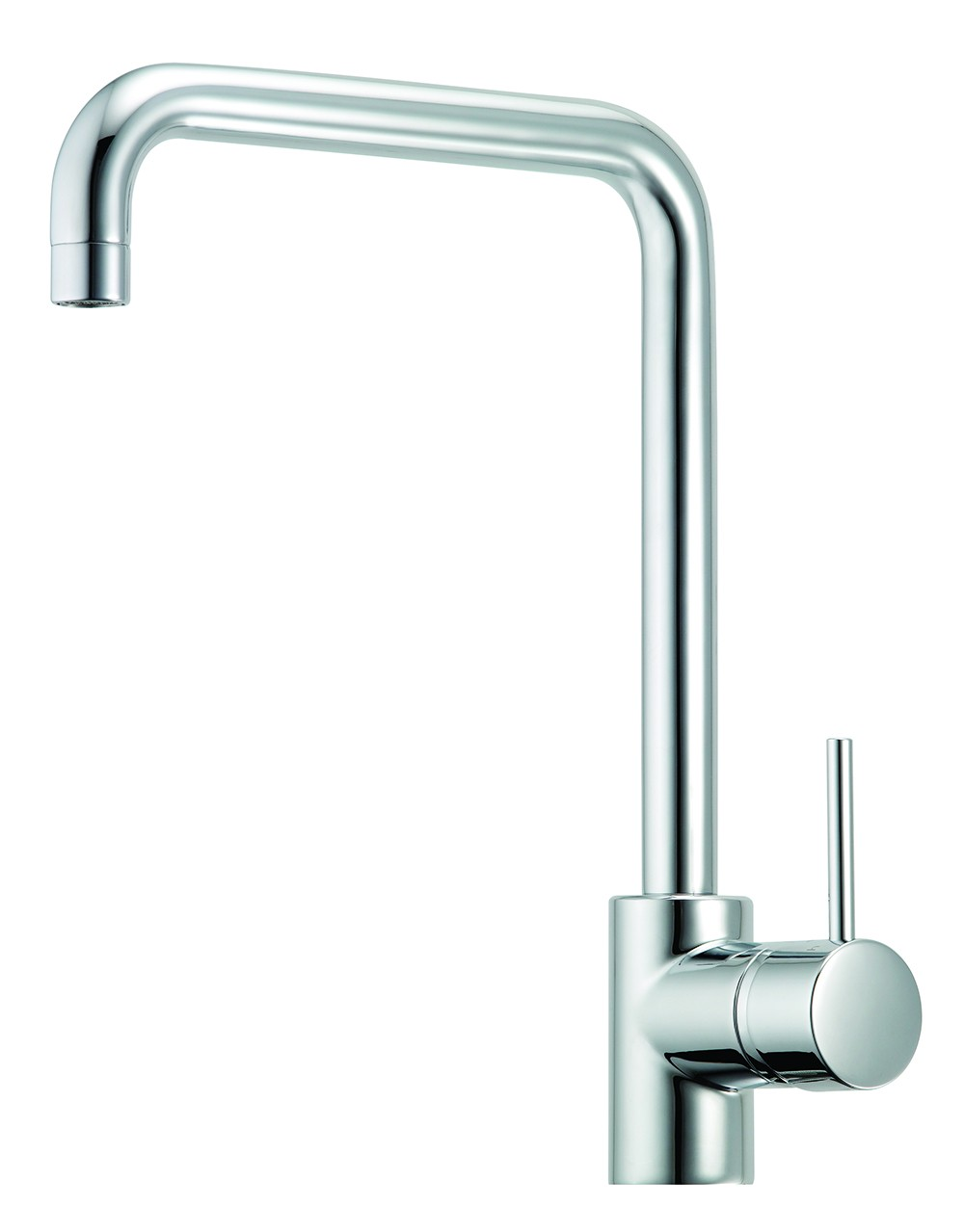 MIN. SQUARE NECK SINK MIXER CHROME 6 STAR