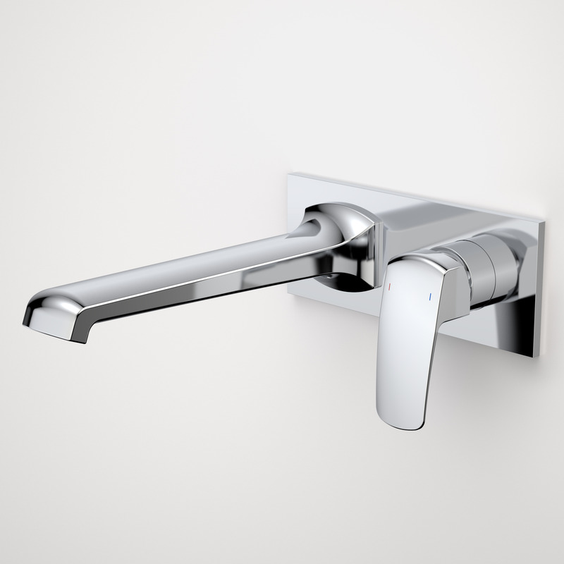 Pillar Wall Bath Mixer
