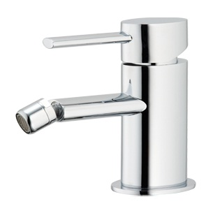 Methven Ovalo Bidet Mixer Tap With Pop Up Waste Chrome