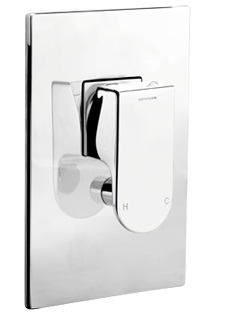 Methven Rere Bathroom Shower Mixer With Diverter Chrome