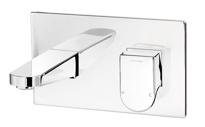 Methven Rere Wall Mounted Bath Mixer Tap With Chrome Plate 145mm