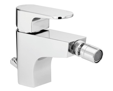 Methven Amio Bidet Mixer Tap With Pop Up Waste Chrome