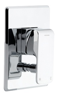 Methven Kiri Wall Shower Mixer With Diverter Square