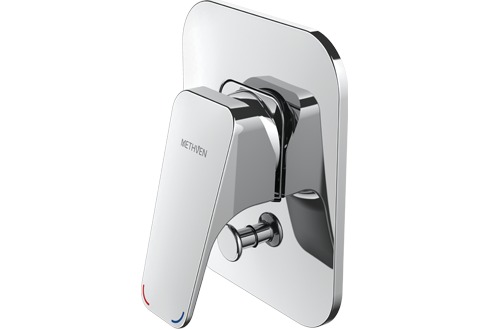 Methven Waipori Bathroom Shower Mixer Tap With Diverter Chrome