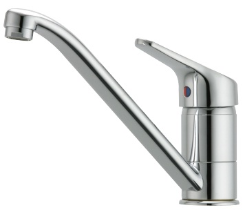 Methven Futura Kitchen Laundry Sink Wels Mixer Tap Chrome Round