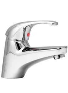 Flexispray Echo Strata Vanity Basin Wels Mixer Tap - 6 Star