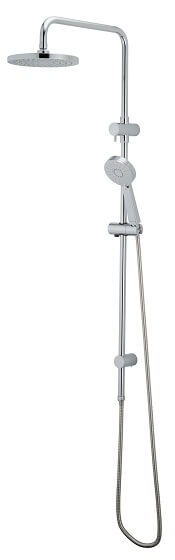 Bathroom Flexispray Krome 100 3 Function Exposure Rail Shower