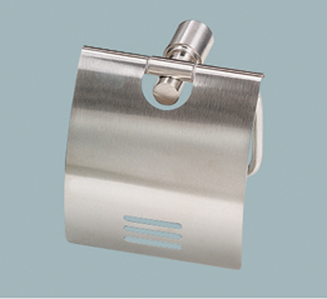 OS Wall Bathroom Paper Toilet Roll Holder Stainless Steel Finish