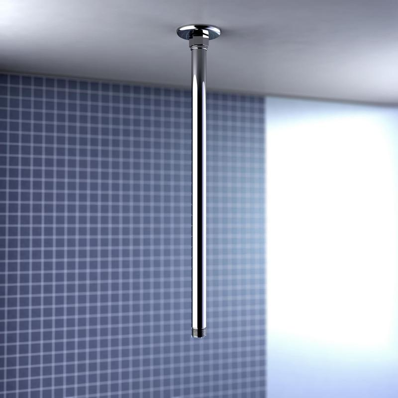 Caroma Ceiling Mounted Straight Arm - 400mm Bathroom Shower