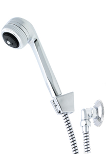 Flexispray Calypso Bathroom Massage Hand Shower On Bermuda Bracket
