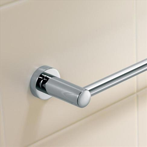 Caroma Cosmo Bathroom Wall Metal Single Towel Rail - 600mm