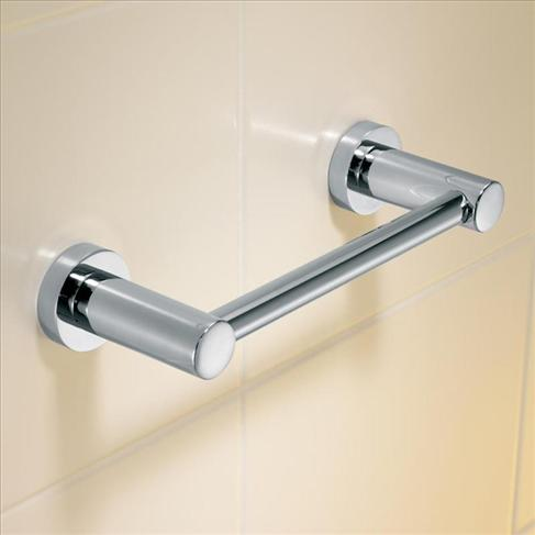 Caroma Cosmo Bathroom Wall Metal Hand Towel Rail Holder - 200mm