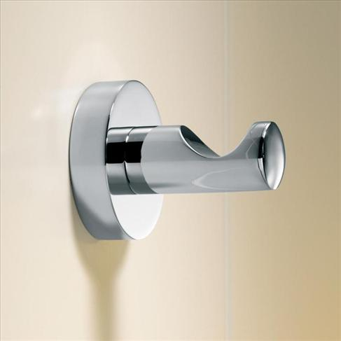 Caroma Cosmo Bathroom Wall Metal Single Robe Hook