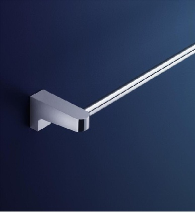 Dorf Arc Wall Single Towel Rail - 800mm Bathroom Accessories