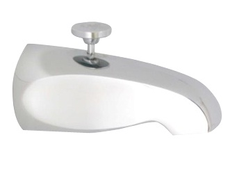 Methven Economy Reverse Flow Bathroom Bath / Shower Diverter Chrome