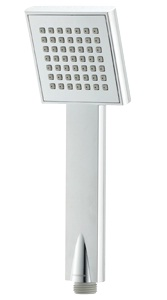 Methven Rere Bathroom Shower Handset Square Chrome 1 Function