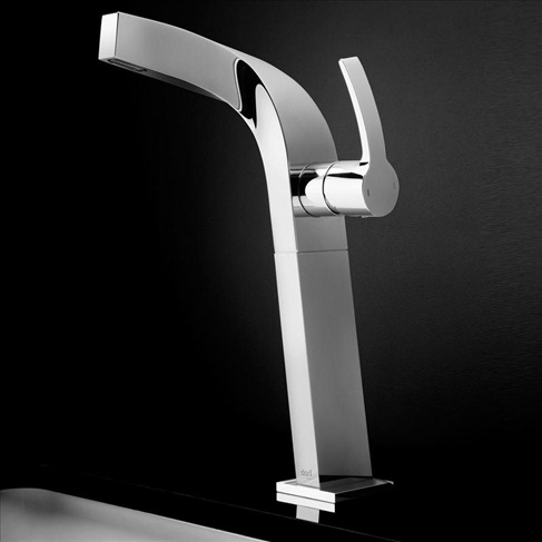 Dorf Whirl Bathroom Vanity Tower Wels Basin Mixer Tap