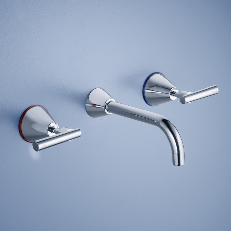 Caroma Elegance Lever Wall Bathroom Bath Tapware Set