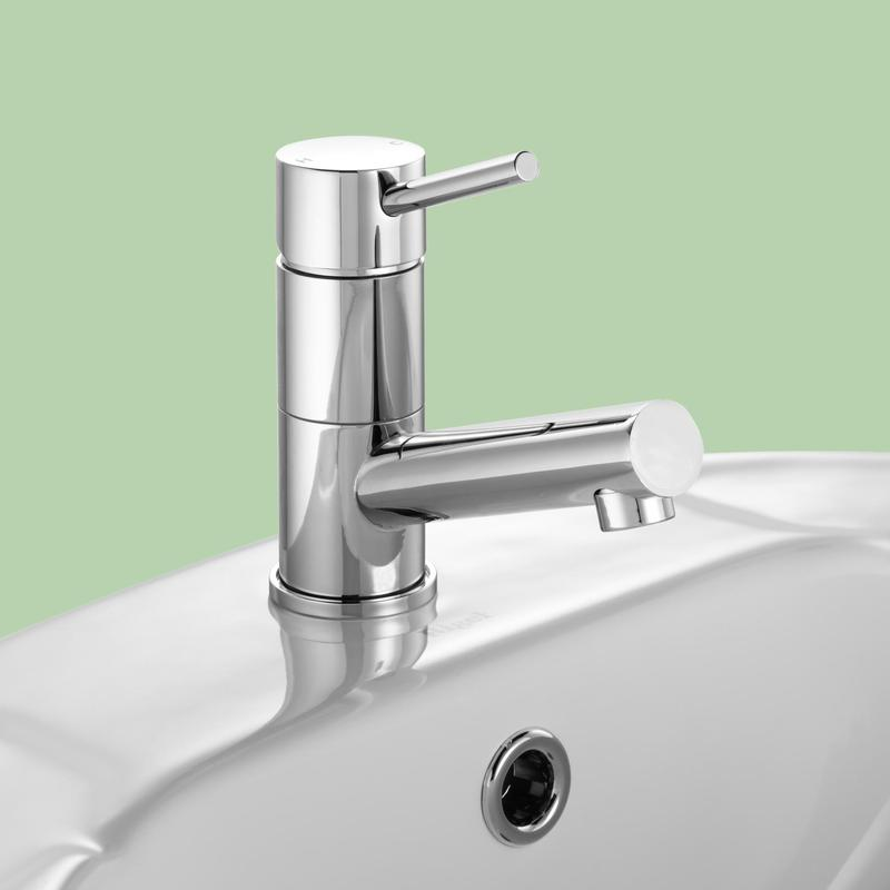 Stylus Cadet Bathroom Basin Wels Mixer Tap Chrome