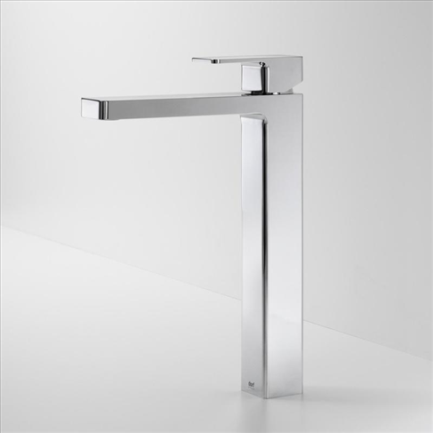 Dorf Epic Bathroom Vanity Tower Basin Mixer Chrome Square