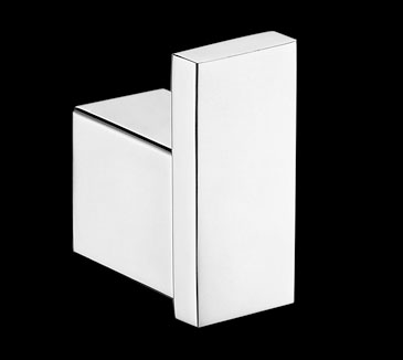 Rossto Square Wall Robe Hook Chrome Bathroom Accessories