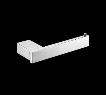 Rossto Square Wall Toilet Paper Holder Chrome Bathroom Accessories